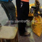 การบรรจุสี thermoplastic TRI-STAR ส่งไปเมืองเมียวดี ประเทศพม่า