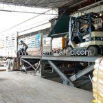 สีจราจรตีเส้นถนน ส่งออกประเทศพม่า จำนวน 1,500 ถุง