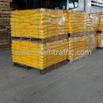 สี thermoplastic สีเหลือง ส่งออกประเทศพม่า จำนวน 1,500 ถุง