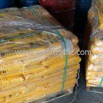 ขายสีเทอร์โมพลาสติกสีเหลือง ส่งออกประเทศพม่า จำนวน 1,500 ถุง