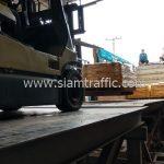 สีตีเส้นถนน มอก.542-2549 ส่งออกประเทศพม่า จำนวน 1,500 ถุง