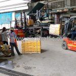 สีทาพื้นถนน มอก.542-2549 ส่งออกประเทศพม่า จำนวน 1,500 ถุง