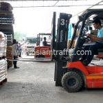 สีทาเส้นจราจร มอก.542-2549 ส่งออกประเทศพม่า จำนวน 1,500 ถุง