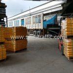 สีเทอร์โมพลาสติกสีเหลือง ส่งออกประเทศพม่า จำนวน 1,500 ถุง
