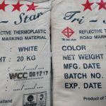 สีเทอร์โมพลาสติกสีขาว TRI STAR ส่งไปจังหวัดสุโขทัย