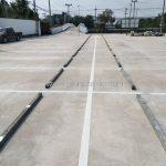 ตีเส้นถนน บริษัท เวิลด์มาร์เก็ต เพลส จำกัด ปริมาณงาน 2,011.15 เมตร