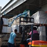 สีเทอร์โมพลาสติกจำนวน 650 ถุง ส่งไปประเทศพม่า