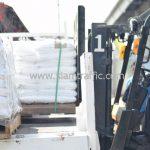 สีสะท้อนแสงทาถนน จำนวน 650 ถุง ส่งไปสาธารณรัฐแห่งสหภาพพม่า