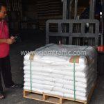 สี thermoplastic จำนวน 650 ถุง ส่งไปสาธารณรัฐแห่งสหภาพพม่า