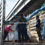 สีเทอร์โมพลาสติก จำนวน 650 ถุง สีขาว ส่งไปสาธารณรัฐแห่งสหภาพพม่า