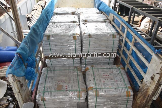 ขายสีเทอร์โมพลาสติก 1,500 ถุง ส่งไปเมืองเมียวดี ประเทศพม่า