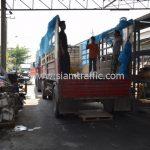 สี thermoplastic จำนวน 1,550 ถุง ส่งไปที่ประเทศพม่า