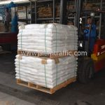 สีเทอร์โมพลาสติก สีขาว จำนวน 1,550 ถุง ส่งไปที่ประเทศพม่า
