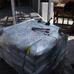 สีตีเส้นจราจร มอก.542–2549 จำนวน 1,550 ถุง ส่งไปที่เมืองเมียวดี ประเทศพม่า