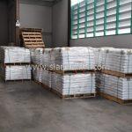 สี thermoplastic จำนวน 1,550 ถุง ส่งไปที่เมืองเมียวดี ประเทศพม่า