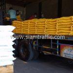 สี thermoplastic สีขาว และสีเหลือง ส่งไปที่พนมเปญ ประเทศกัมพูชา
