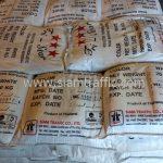 สีเทอร์โมพลาสติกสีขาว จำนวน 1,000 ถุง ส่งไปที่พนมเปญ ประเทศกัมพูชา
