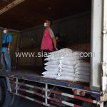 สีเทอร์โมพลาสติกสีขาว ส่งไปที่พนมเปญ ประเทศกัมพูชา