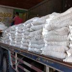 สีเทอร์โมพลาสติก สีขาว จำนวน 1,000 ถุง ส่งไปที่พนมเปญ ประเทศกัมพูชา