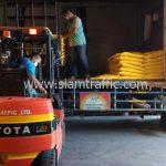 สี thermoplastic ส่งไปที่พนมเปญ ประเทศกัมพูชา