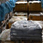 สีตีเส้นจราจร สีเหลือง จำนวน 2,700 ถุง ส่งไปที่ประเทศพม่า