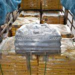 เทอร์โมพลาสติก ตีเส้นถนน จำนวนทั้งหมด 3,700 ถุง ส่งไปที่เมืองเมียวดี ประเทศพม่า