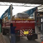 สี thermoplastic จำนวนทั้งหมด 3,700 ถุง ส่งไปที่เมืองเมียวดี ประเทศพม่า