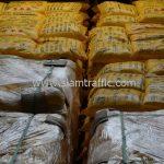 สีเทอร์โมพลาสติก 30% สีเหลือง TRI-STAR (มอก.) จำนวน 2,700 ถุง ส่งไปที่เมืองเมียวดี ประเทศพม่า