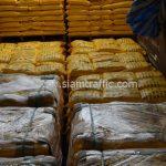 สีเทอร์โมพลาสติก 30% สีเหลือง TRI-STAR (มอก.) จำนวน 2,700 ถุง ส่งไปที่ประเทศพม่า