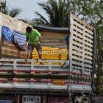 สีเทอร์โมพลาสติก มอก.542-2549 จำนวน 2,700 ถุง ส่งไปที่ประเทศพม่า