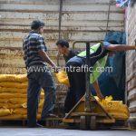 สี thermoplasticสีเหลือง มอก.542-2549 จำนวน 2,700 ถุง ส่งไปที่เมืองเมียวดี ประเทศพม่า