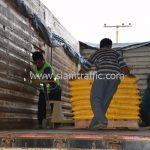 สี thermoplasticสีเหลือง มอก.542-2549 จำนวน 2,700 ถุง ส่งไปที่ประเทศพม่า