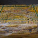 สีตีเส้นจราจรชนิดสีเทอร์โมพลาสติก สีเหลือง ส่งไปที่เมืองเมียวดี ประเทศพม่า