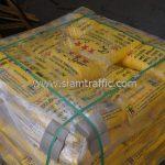 สีเทอร์โมพลาสติก 30% สีเหลือง TRI-STAR (มอก.) จำนวน 2,700 ถุง ประเทศพม่า