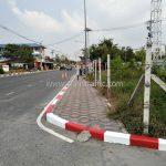 ขอบทาง ขาว-แดง บริษัท โตโยต้า มอเตอร์ ประเทศไทย จํากัด โรงงานบางปะกง