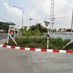 ทาสีขอบทาง ขาว-แดง บริษัท โตโยต้า มอเตอร์ ประเทศไทย จํากัด โรงงานบางปะกง