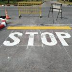 ตีเส้น บริษัท โตโยต้า มอเตอร์ ประเทศไทย จํากัด โรงงานบางปะกง
