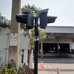 สัญญาณไฟกระพริบ SOLAR CELL บริษัท โตโยต้า มอเตอร์ ประเทศไทย จํากัด โรงงานบางพลี