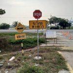 การติดตั้งป้ายเตือน บริษัท โตโยต้า มอเตอร์ ประเทศไทย จํากัด โรงงานแหลมฉบัง
