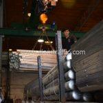 โรงงานผลิตการ์ดเรล ส่งไป อำเภอมโนรมย์ จังหวัดชัยนาท จำนวน 446 แผ่น