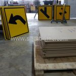 General warning signs export to Yangon Myanmar