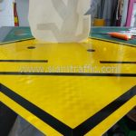 Pedestrain crossing sign import from Thailand