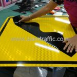 Road hump general warning sign export to Yangon Myanmar