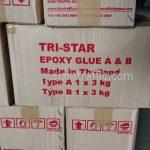 กาวอีพ๊อกซี่ TRI-STAR จำนวน 54 ชุด ส่งไปที่ปั๊มพีที อำเภอสอง จังหวัดแพร่