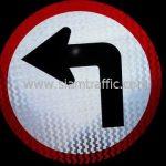 ป้ายบังคับ ให้เลี้ยวซ้าย (1-37) บริษัท เจ-ริช จำกัด