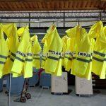 เสื้อกันฝนสะท้อนแสง เทศบาลตำบลฉลอง จำนวน 24 ตัว