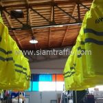 เสื้อกันฝนตำรวจ เทศบาลตำบลฉลอง จำนวน 24 ตัว