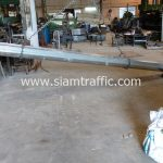 การ์ดเรลยาว 4.32 เมตร ส่งไปที่โครงการแขวงทางหลวงจันทบุรี จำนวน 17 แผ่น