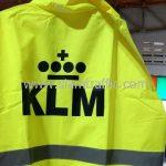 ร้านขายเสื้อกันฝน สกรีนโลโก้ KLM