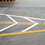 งานตีเส้นจราจร โรงงานคาราบาวแดง จังหวัดฉะเชิงเทรา